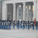 Change of Guards at Amalienborg Palace near the hotel