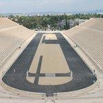 Panathenaic Stadium, Saturday June 7, 2014