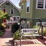 Back porch/garden areas