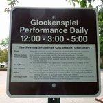 Glockenspiel Info Sign