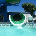 Strong swimmer slide