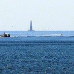 Vue sur le phare de Cordouan depuis le Club