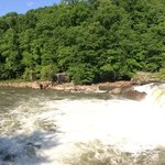 Mid-point between Cumberland and Pittsburgh is Ohiopyle which is famous for its waterfalls