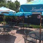 What a great place to enjoy a summer drink and a meal!