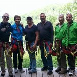 group of six ages 55 to 71
