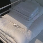 clean linen and towels ready on your bed