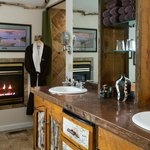 Private Baths and Fireplaces