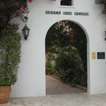 Entrance to Hotel comples of three hotels
