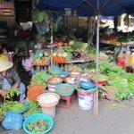 Plenty of fresh vegetables