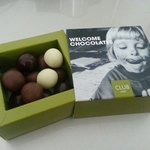 Welcome Chocolates...