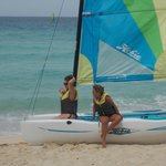 Catamaran is available