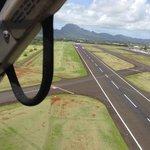 Handle and runway