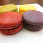 Lepitit Parisien - Pistachio, Blackberry, Cherry and Lemon - YUM!