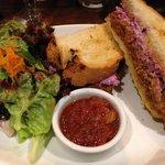Stunning sandwich