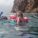 Snorkeling with a little one in tow