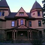 The exterior of the Ivinson Mansion at the Laramie Plains Museum