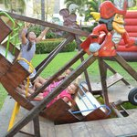 Parque Infantil Juego Canoa