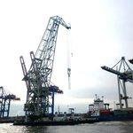 Crane at Hamburg Port