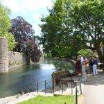 moat and bishops palace