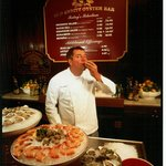Chef Tom Meyer at the Oyster Bar