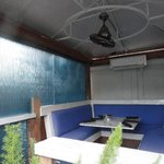 Air conditioned outdoor booths