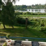 View on Loire river from the room