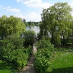 Beautiful grounds at Schwerin Castle