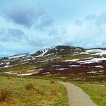path at summit