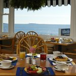 Ocean views from Cafe