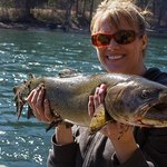 Her first Bull Trout...