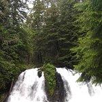 Waterfall at Gold Creek Salmon Bake