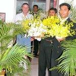 welcomness in Taj Bengal
