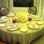 dinning room Presidentiel Suite
