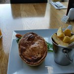 Melt-in-the-mouth pastry on this steak and ale pie