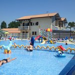 Kids swimming area - Kids and adults to wear fitted lycra shorts / costumes