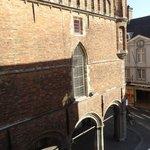 Belfry view from room window