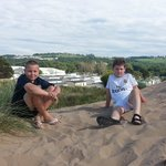 Boys chillin in the Sand Dunes