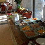 Breakfast buffet at the Inbal