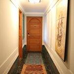 Porte de la chambre