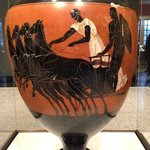 Prize vessel from the Athenian games