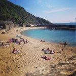 Polkerris beach...