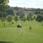 The Domaine du Golf de Belleme course - still looking great in late September