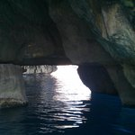 Looking through the caves