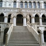 The grand staircase Doge Palace