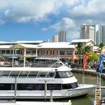 Our tour boat at Bayside Marketplace