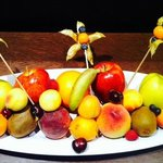 Arrival fruit basket