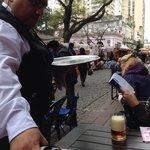 Ótima cerveja na calle