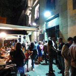 Flauta Restaurant - Lines of People Waiting