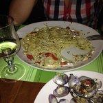 Spaghetti vongole e pachino ... Mmmm
