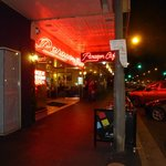Paragon Cafe, Goulburn by night